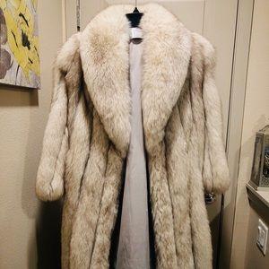 Saga Furs Long Coat
